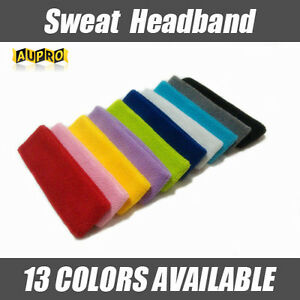Cotton-Headband-Sweatbands-Sweat-Band-Head-Band-for-Tennis-Badminton-Sport-Yoga