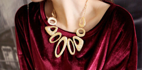 Lady Pendant Statement Necklace Clavicle Stylish Christmas Party Gift Discount