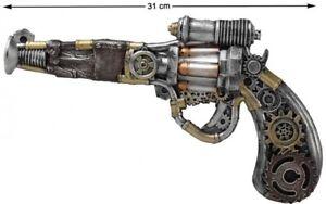Pistolet STEAMPUNK Accessoire Déguisement Homme Femme Victorien NEUF Pas cher