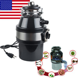 2600RPM Electric Kitchen Waste Disposer Home Food Garbage Sink ...