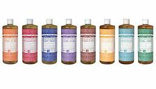 Dr Bronner Castile liquid soap Organic Fair Trade 946ml 32 fl oz 1 litre Vegan