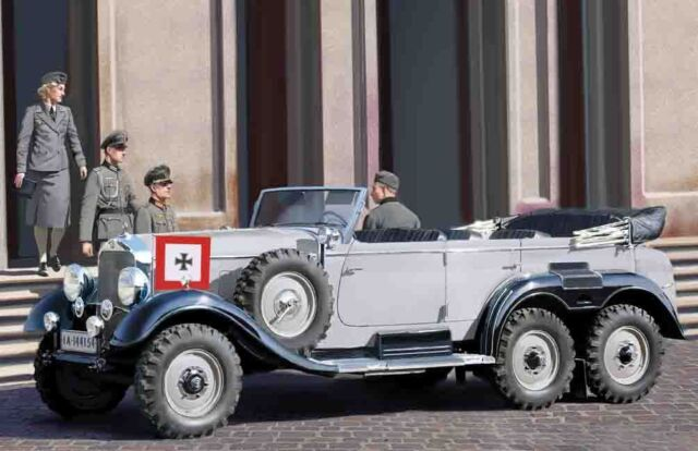 Icm 35531 - 1:3 5 G4 (1939), Allemand car avec Passagers - Neuf