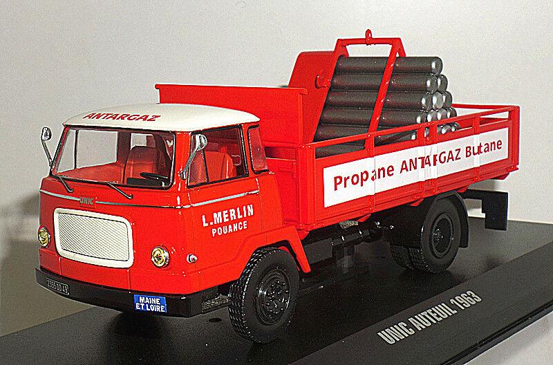 Ixo 1 43 TRU015 Unic Auteuil 1963