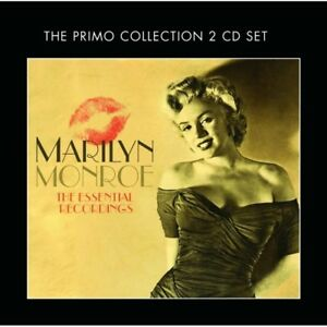 MARILYN-MONROE-THE-ESSENTIAL-RECORDINGS-2-CD-NEW
