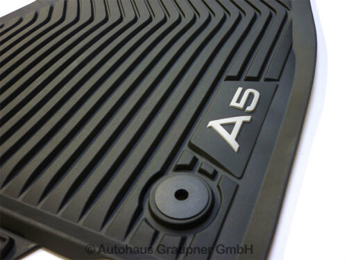 Audi a5 gummifussmatten delante 8w7061501 041 allwettermatten tapices
