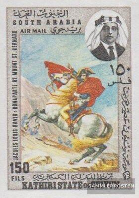 Kathiri Estados 223b Reasonable Adén completa Edición Nuevo Con Goma Original 1968 Napo