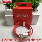 Original 5V/4A Fast Charger DASH Adapter Type-C Cable For Oneplus 3 Three 3T & 5