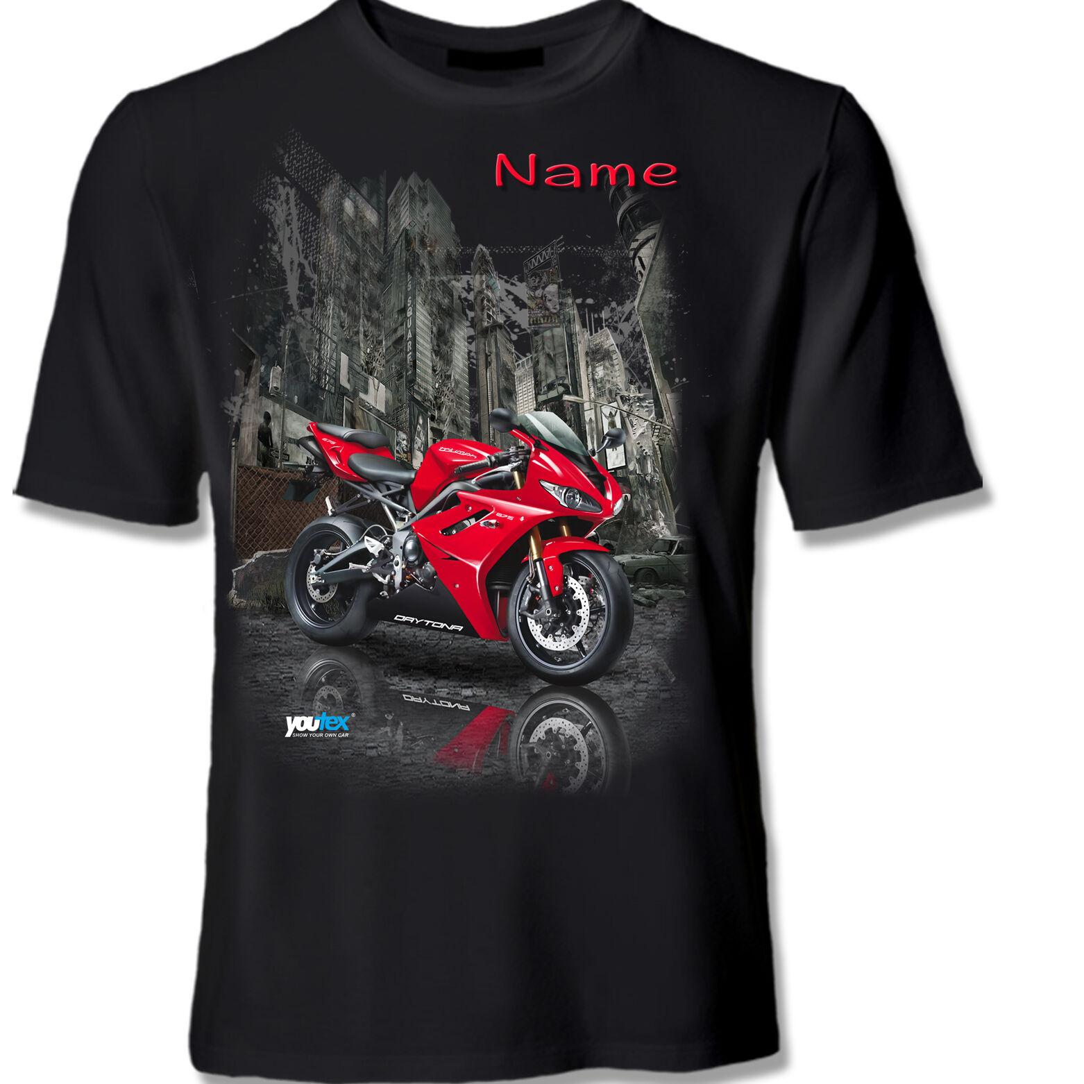 TRIUMPH DAYTONA 675 Tuning T Shirt Shirt T-Shirt original YOUTEX
