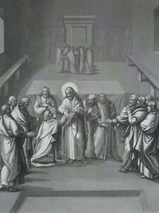 Jesus-Christ-Appears-Thomas-the-Recognizes-and-L-039-Adore-Gravure-1863