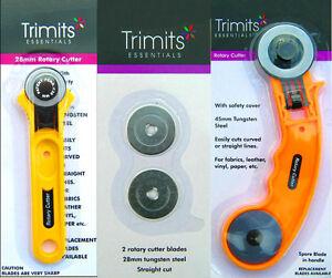 Impex-trimits-Essentials-RULLO-Taglierina-Rotativa-Craft-quilting-cucito-tessuto