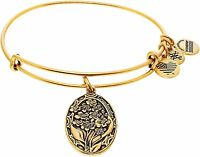 Alex And Ani Women's Because I Love You Grandmother Lily Bangle Bracelet