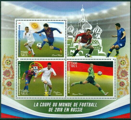2017 Russie 2018 Football Sport Messi Ronaldo Neuer