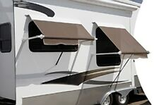RV Camper Carefree XL Window Awning Arms, White with White Casting 690551