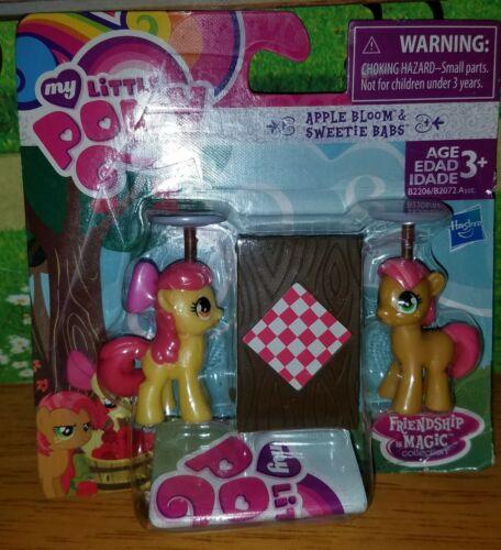 "My Little Pony Friendship Is Magic Apple Bloom /& Sweetie Babs 2/"" figures"