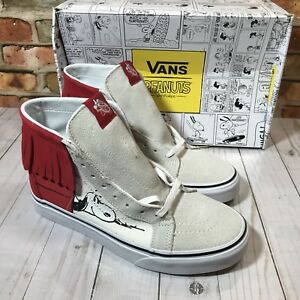 Sk8 6 Taille Dog Snoopy Vans Moc Hommes Peanuts Os House hi De Chaussures x8wEnqZn