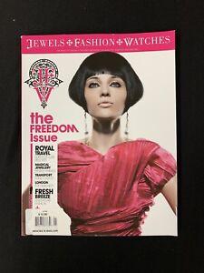 JFW MAGAZINE Issue #01 2008  Free Style - Jewels, Fashion, Watches Harry Winston