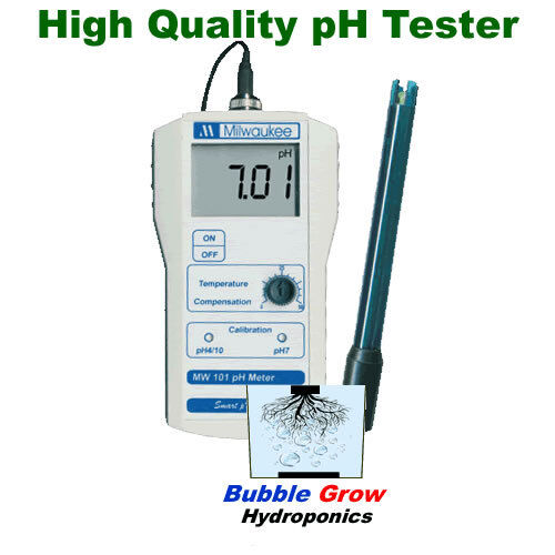 MILWAUKEE PH MW 100  /& EC MW 302 TESTER METER SET WITH CARRY CASE