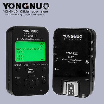 Yongnuo YN622C-TX +YN-622C KIT  flash trigger for Canon 600EX-RT,430EXII,580EXII