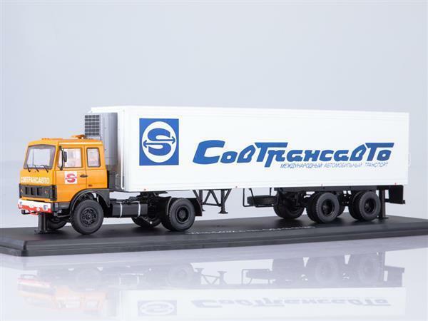 SSM MAZ-5432 tracteur camion (ancienne version) WIT 1 43 7057