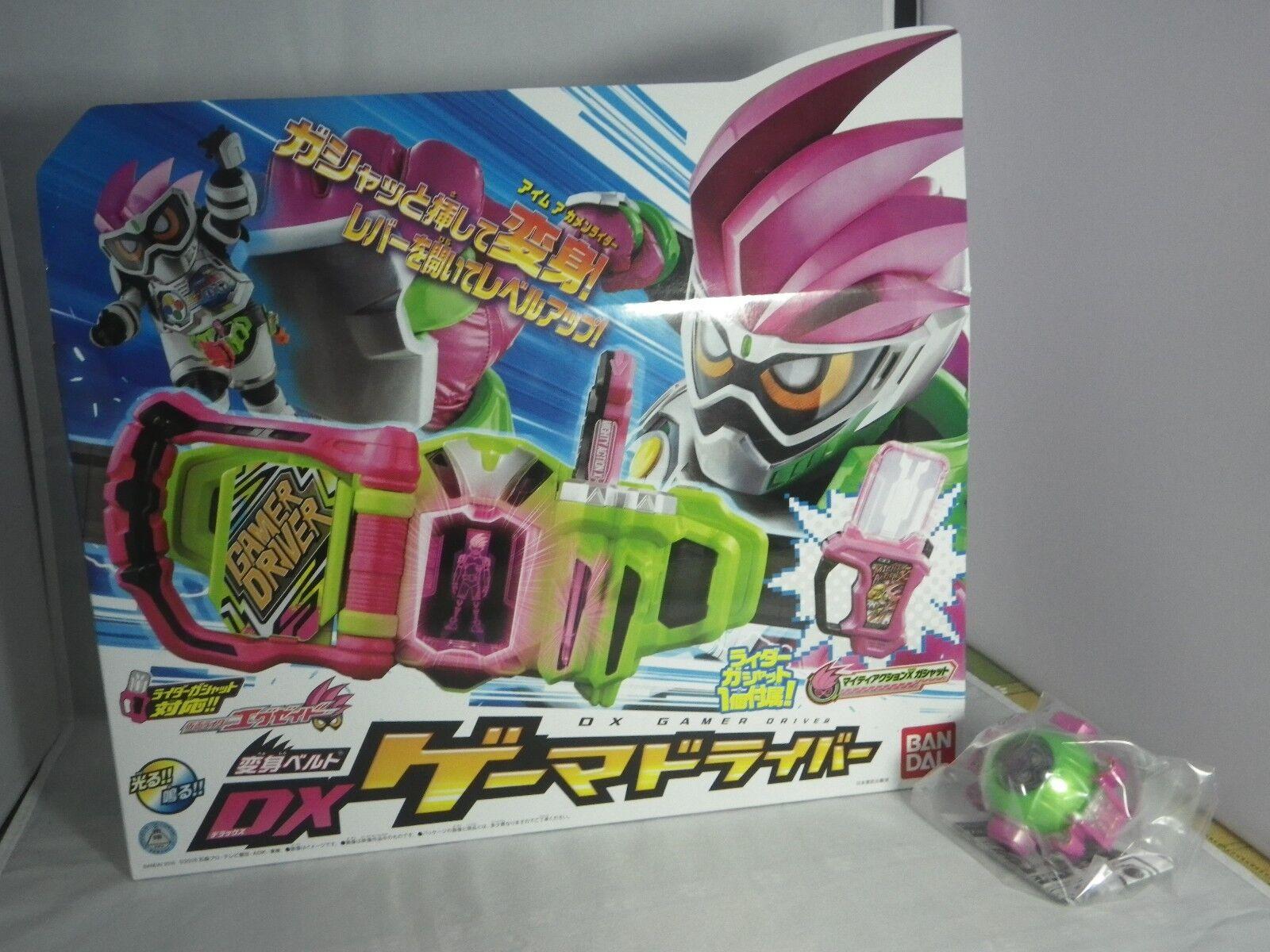 BANDAI enmascarado Kamen Rider Cinturón Dx Ex-Aid Prendedores Gamer controlador Japón fantasma icono