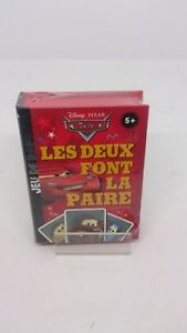 Disney-Cars-Jeu-de-Cartes-Les-Deux-Font-la-Paire