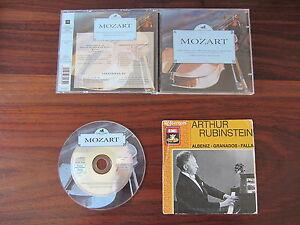 MOZART-11-TITRES-ARTHUR-RUBINSTEIN-3-TITRES-CD