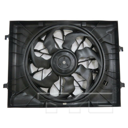 Dual Radiator /& Condenser Cooling Fan Assembly for 16-19 Kia Optima 2.4L
