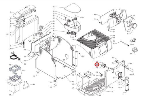 Black Tube Dispensing Outlet Smart V2 Pipe For SAECO SUP021YE