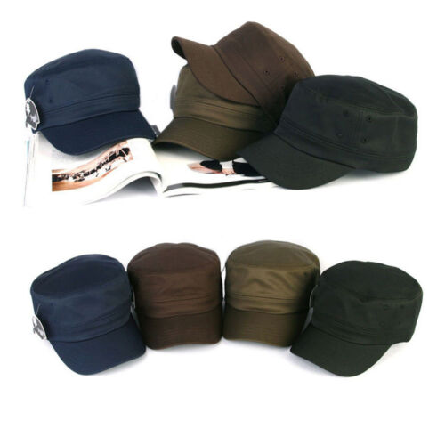 XL~2XL 61~64Cm Big Size Unisex Mens Suit Dress Hats Military Cadet Trucker Cap