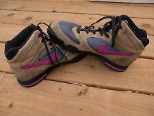 Womens Nike Caldera Hiking Boots - Vintage Korea Leather Purple - Look Nice! 10