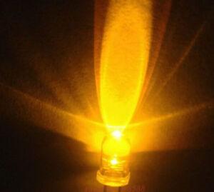New 500 Pcs 5mm Orange 5000mcd LED Lamp Ultra Bright Led Light Bulb Free Ship