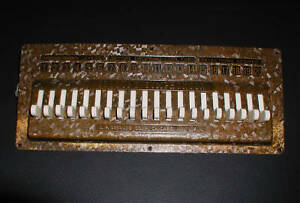 Seeburg Symphonola jukebox buttons