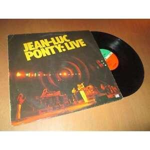 JEAN-LUC-PONTY-live-JAZZ-ROCK-ATLANTIC-German-Lp-1979