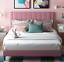amolife queen size bed tufted platform bed frame/upholstered bed frame mattress