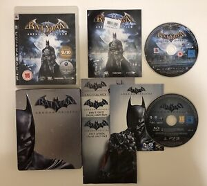 Batman-Arkham-Asylum-amp-Origins-Steelbook-Sony-Playstation-3-ps3-Spiele
