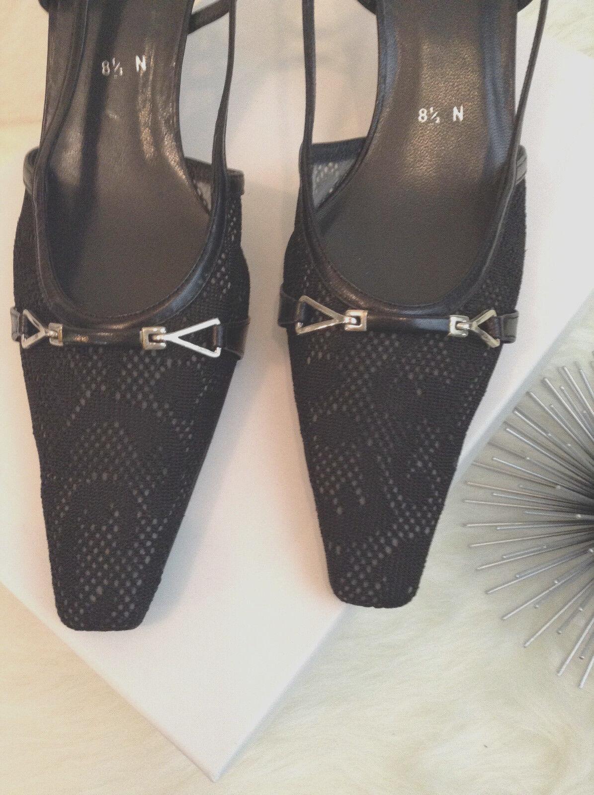 New, Stuart Weitzman Slingback Heels, Sz Sz Sz 8 1 2 N c20e0d