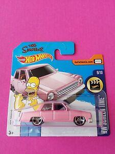 SIMPSONS-FAMILY-CAR-Hot-Wheels-1-64-Diecast-Mattel-Toy