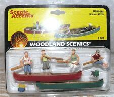 HS  Woodland A2755 Figurenset Kanuten Spur O