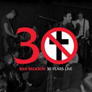 Bad Religion - 30 Years Live-BLACK VINYL VINYLE LP NEUF