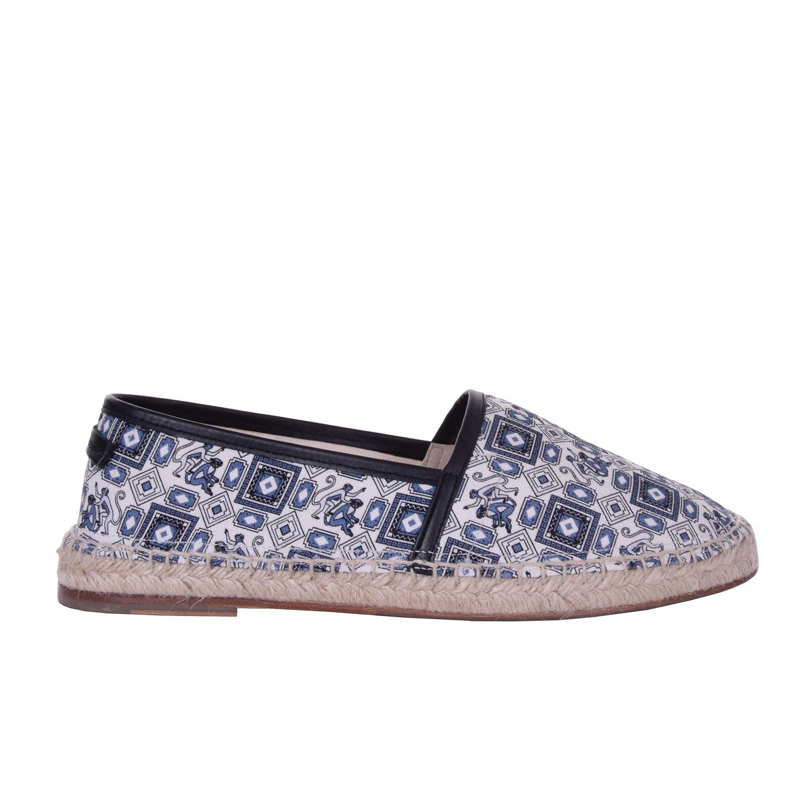 Scarpe casual da uomo  DOLCE & GABBANA Monkeys Printed Canvas Espadrilles Shoes TREMITI Blue 06217