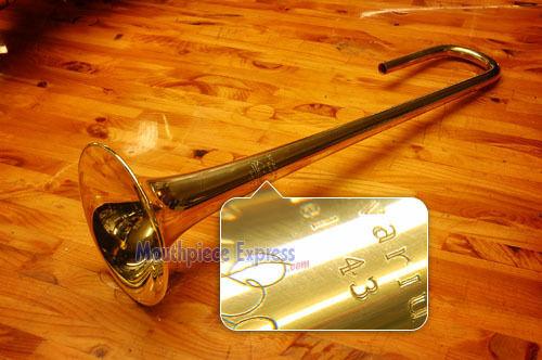 Genuine Bach Stradivarius Bb Trumpet Bell 43, Raw Brass Lightweight NEW