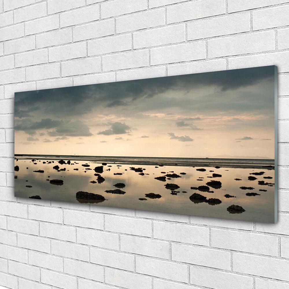 Acrylglasbilder Wandbilder aus Plexiglas® 125x50 Wasser Landschaft