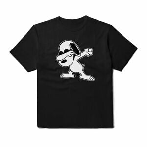 PEANUTS-SNOOPY-T-shirt-cartoon-Movie-T-shirt-DAB-Snoopy-shirt-maglietta-unisex-cotone
