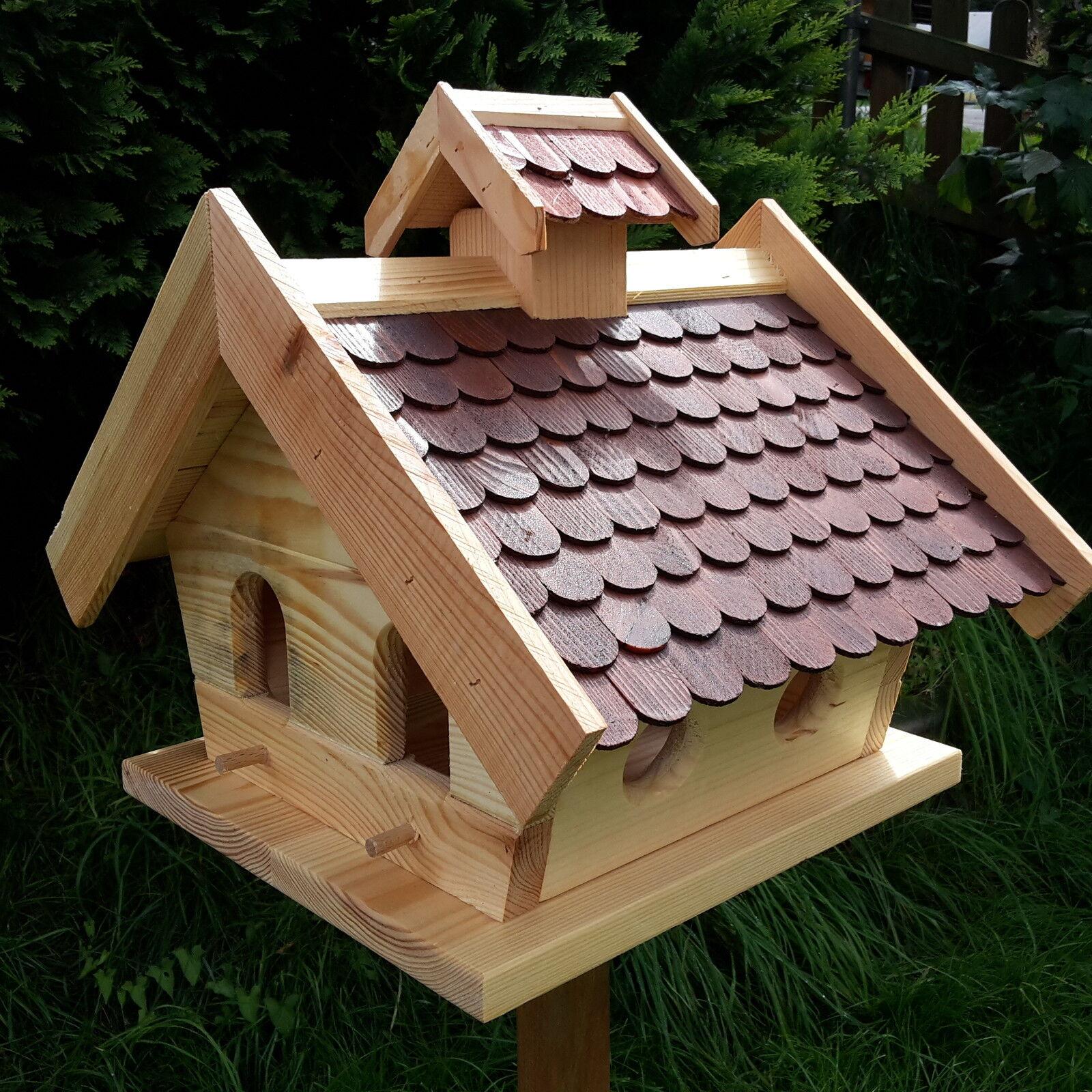 Grande casa uccelli intonaco becco mangime per uccelli Casa Uccelli CASE Legno Uccelli Casetta ufficiali