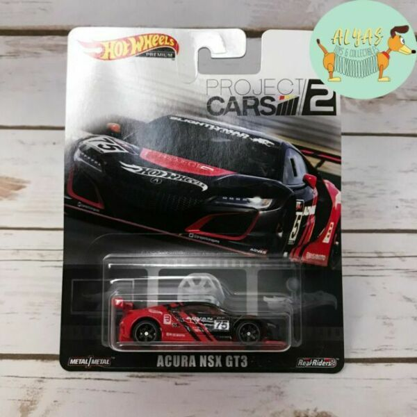 Hot Wheels 2019 Replica Entertainment Project Cars 2 Acura