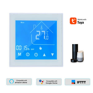 WiFi Programmable Thermostat LCD Smart APP for Amazon Alexa /& Google Home G7Y6