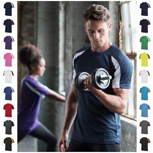 Mens-Running-Training-Gym-Sports-T-Shirt-Tee-T-Shirt-Breathable-Short-Sleeve-Top