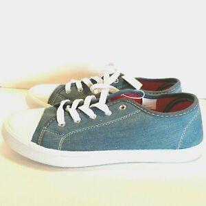 Bobbie Brooks Shoes Sneakers Blue Denim