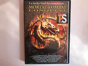 DVD MORTAL KOMBAT CONQUEST OLEY SASSONE KRISTINA LOKEN FS