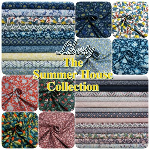 Liberty The Summerhouse Collection Botanical Fruit 100/% Cotton Patchwork Fabric